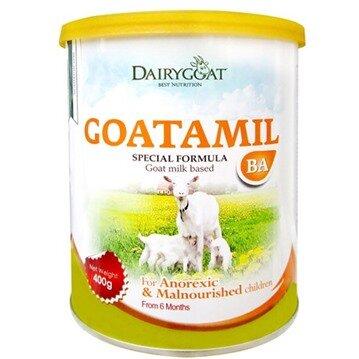 Đánh giá sữa dê Goatamil BA – sữa dành cho trẻ biếng ăn, chậm tăng cân