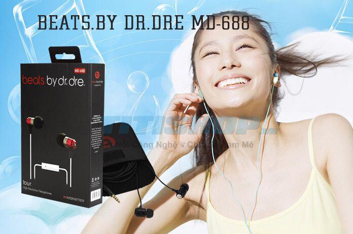 Đánh giá tai nghe beats by dr.dre MD- 688 kèm mic, tận hưởng mọi phút giây giải trí