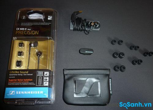 Đánh giá tai nghe Sennheiser CX400 II