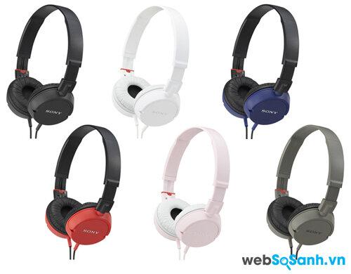 Đánh giá tai nghe Sony MDR ZX100 tầm trung, chất âm tốt