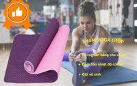 Đánh giá thảm tập Yoga Zeno TPE 8mm có tốt không, giá bao nhiêu