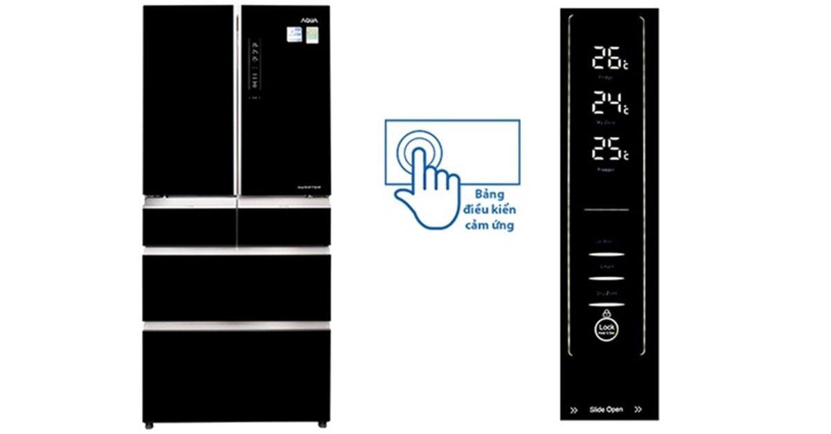 Đánh giá tủ lạnh Aqua AQR-IG686AM GB Inverter 553 lít