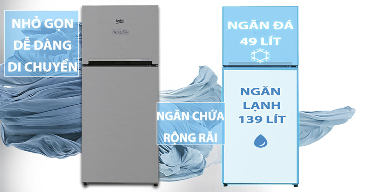 Đánh giá tủ lạnh Beko RDNT200I50VS dùng có tốt không ?