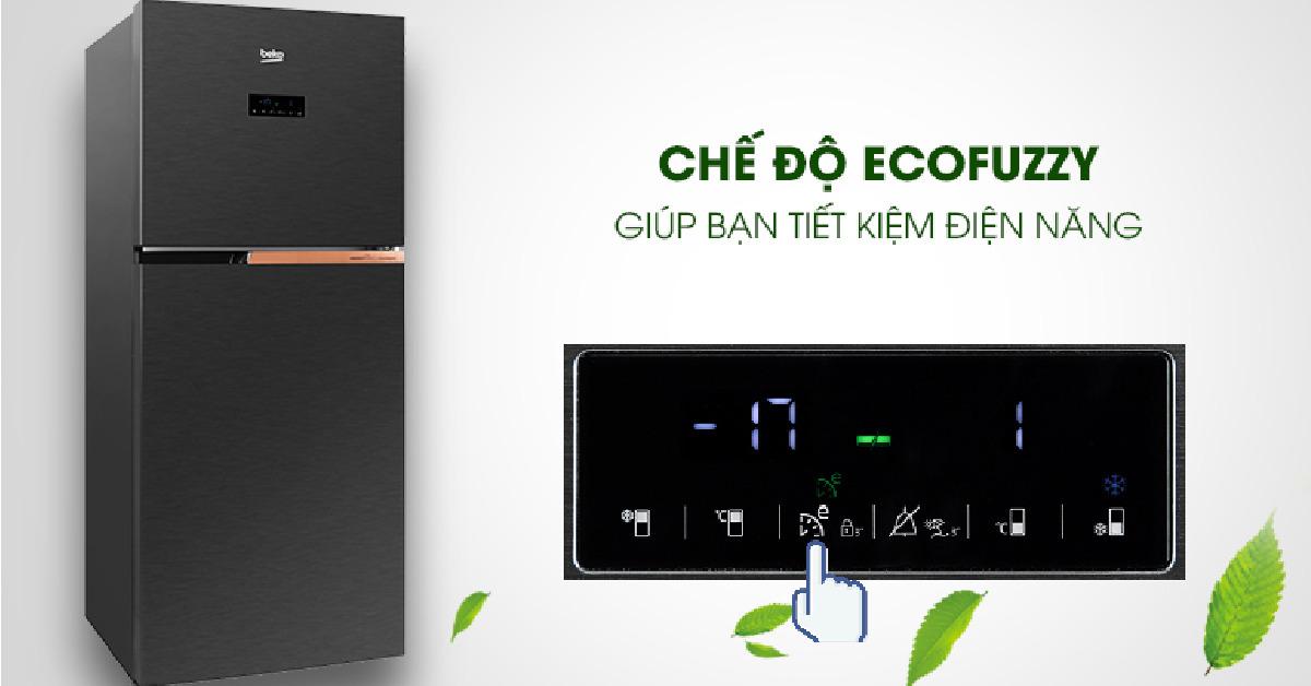 Đánh giá tủ lạnh Beko RDNT371E50VZK có tốt không? Giá bao nhiêu?