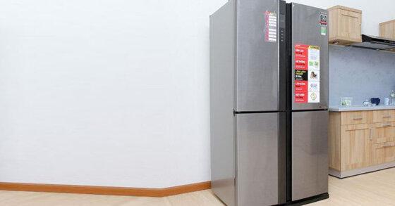 Đánh giá tủ lạnh inverter Sharp SJ-FX630V-ST