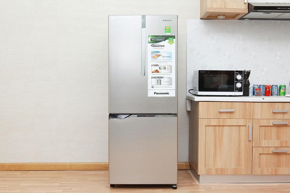 Đánh giá tủ lạnh Panasonic inverter 255l NR-BV288XSVN – công nghệ cấp đông mềm hiện đại hơn