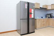 Đánh giá tủ lạnh Sharp 626 lít SJ-FX630V-ST có tốt không, cách dùng