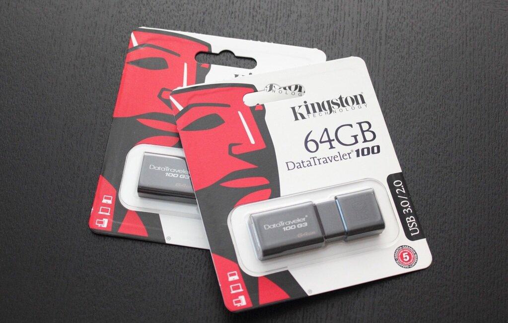 Đánh giá USB Kingston DataTraveler 100G3 3.0