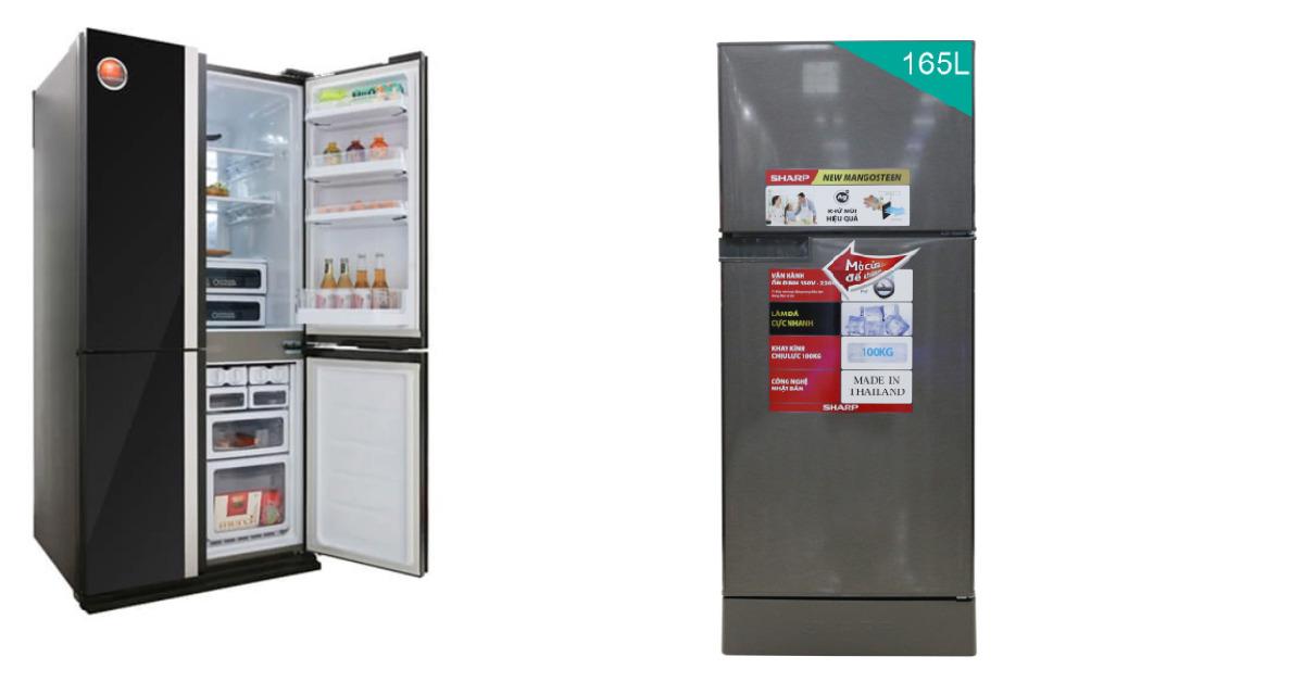 Đánh giá ưu nhược điểm của tủ lạnh Sharp