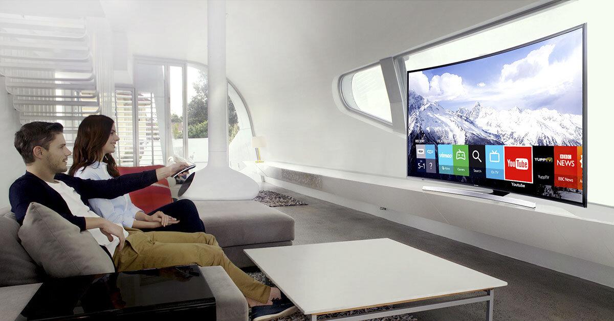 Đánh giá ưu nhược điểm của smart tivi màn hình cong