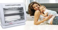 Đánh giá ưu nhược điểm của quạt sưởi bằng bóng đèn carbon
