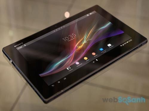 Đánh giá ưu và nhược điểm của máy tính bảng Sony Xperia Tablet Z