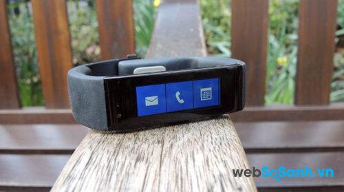 Đánh giá vòng đeo tay thông minh Microsoft Band