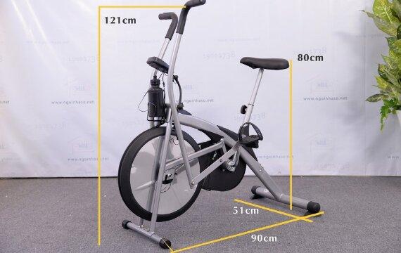Đánh giá xe đạp tập thể dục Air Bike MK98 có tốt không, giá bao nhiêu