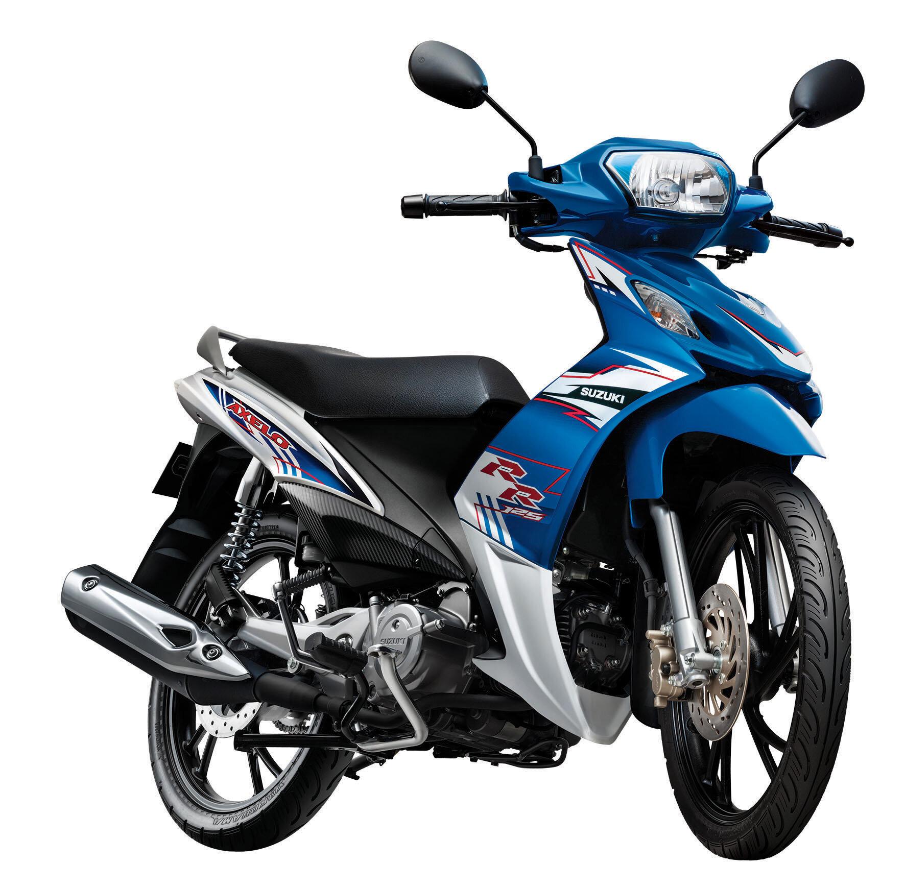 Đánh giá xe máy Suzuki Axelo: xe tay côn ngon, bổ, rẻ