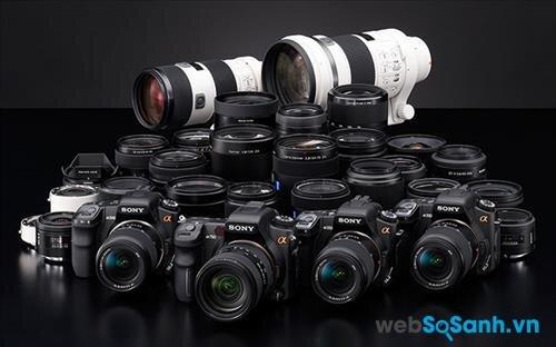 Danh sách 10 máy ảnh DSLR tốt nhất 2015 của Sony