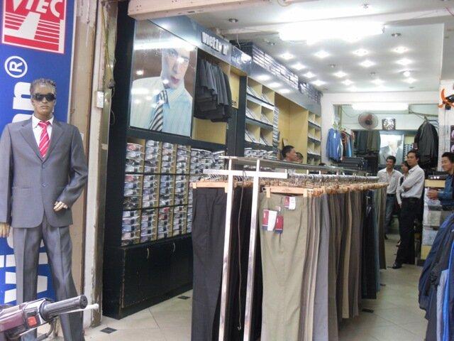 Danh sách các cửa hàng công ty Việt Tiến tại Việt Nam