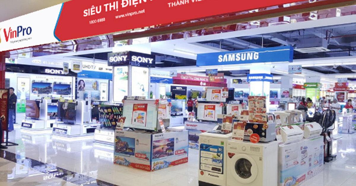 Danh sách các trung tâm siêu thị điện máy tại Hà Nội