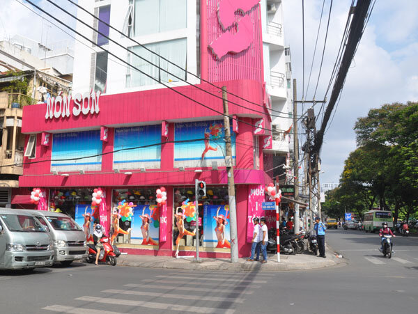 Danh sách cửa hàng Nón Sơn trên cả nước