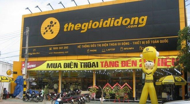 Danh sách cửa hàng Thế giới di động tại thành phố Hồ Chí Minh