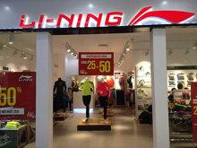 Danh sách cửa hàng thể thao Li-ning toàn quốc