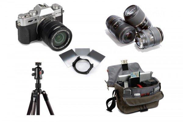 Danh sách đồ dùng cho nhiếp ảnh du lịch