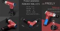 Đánh tan mọi cơn đau mỏi, căng cơ với súng massage gun cầm tay NIKIO NK-171