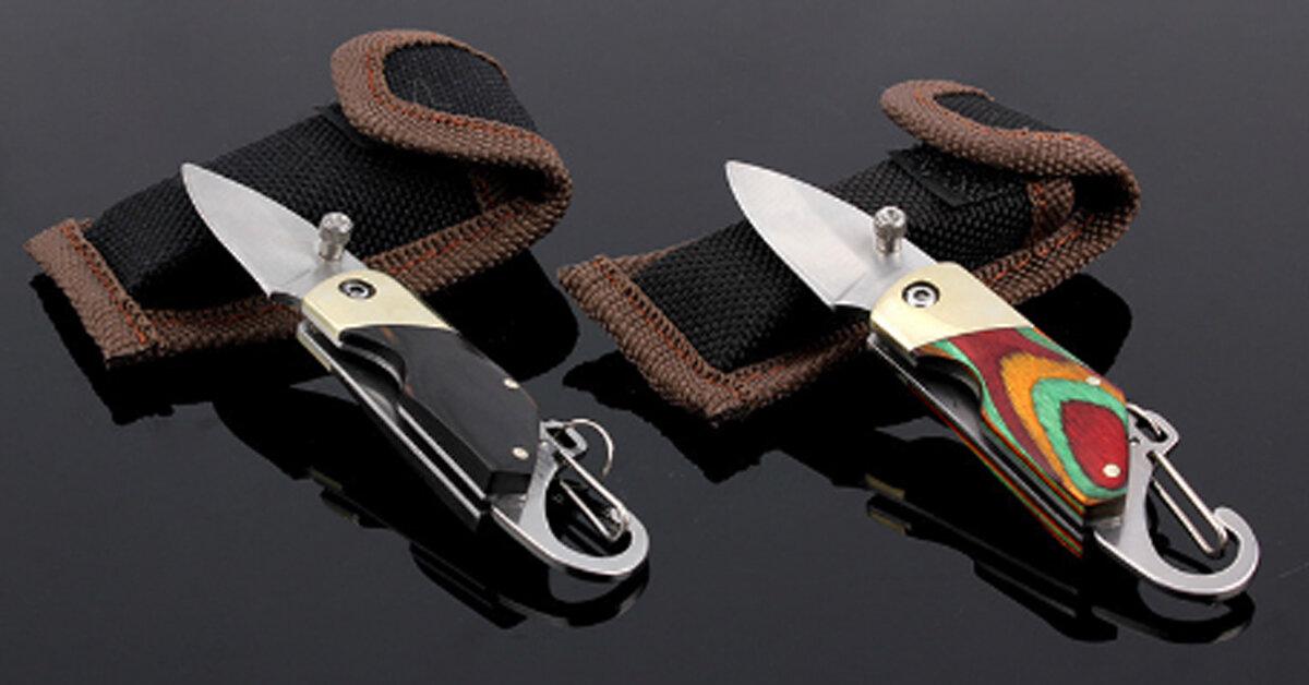Dao bấm là gì ? Có nên mua dao bấm để đi phượt không ?