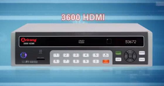 Đầu karaoke Arirang 3600 HDMI giá bao nhiêu ?