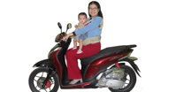 Đâu là địu em bé đi xe máy tốt và an toàn nhất?