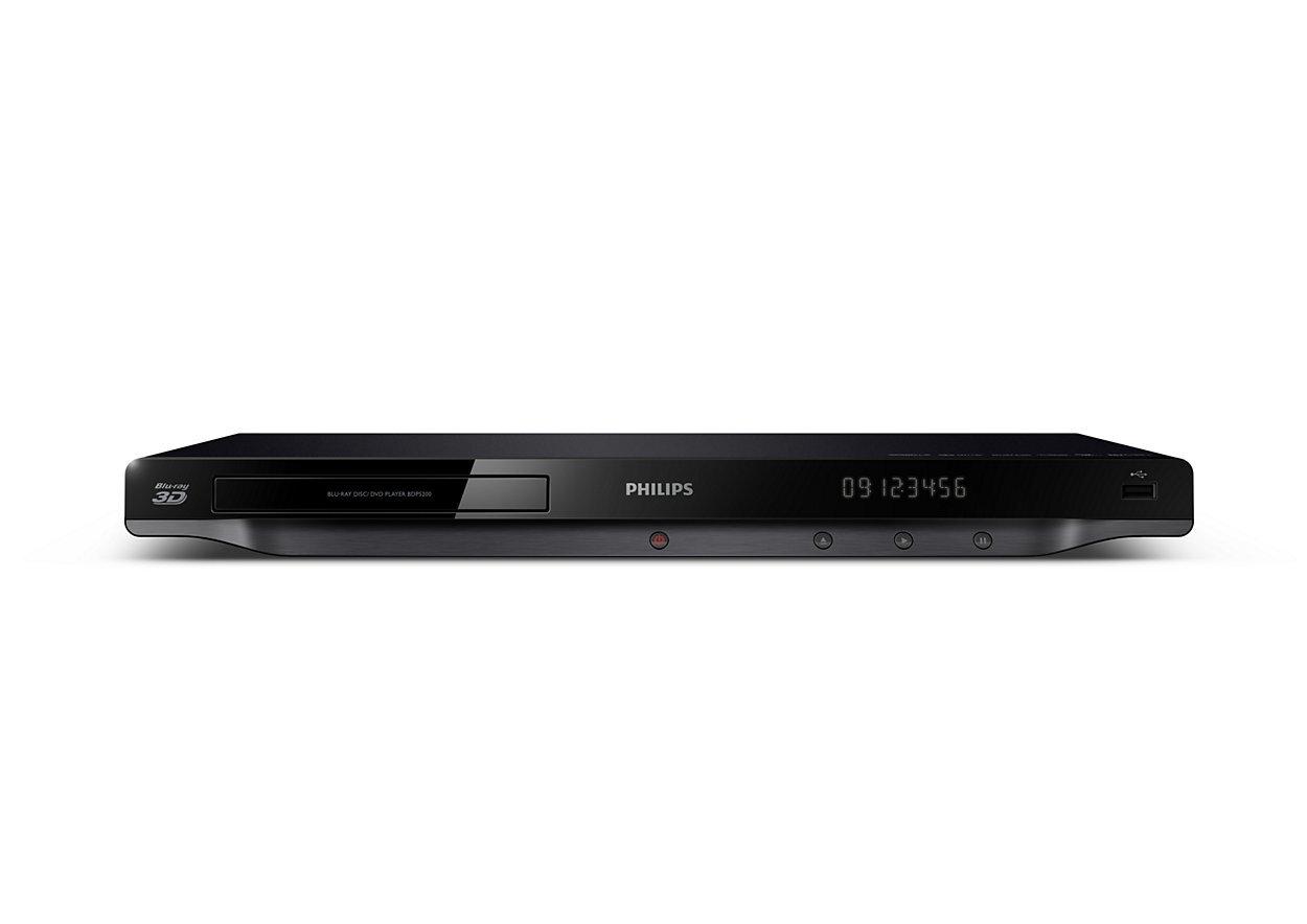 Đầu phát Philips BDP5200 3D Blu- Ray: trải nghiệm giải tí tuyệt đỉnh