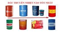 Dầu sử dụng trong máy sưởi dầu là loại nào?