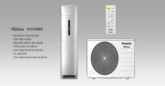 Đây là 4 mẫu điều hòa cây Panasonic mới nhất 2020