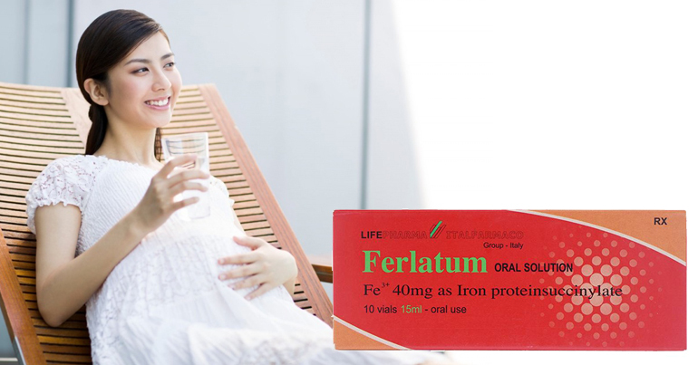 ferlatum dang ống cho bà bầu có tốt có nên mua không ? giá bao nhiêu