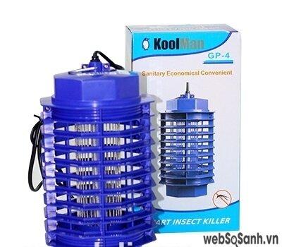 Đèn bắt muỗi KoolMan loại nhỏ TB03 an toàn tuyệt đối