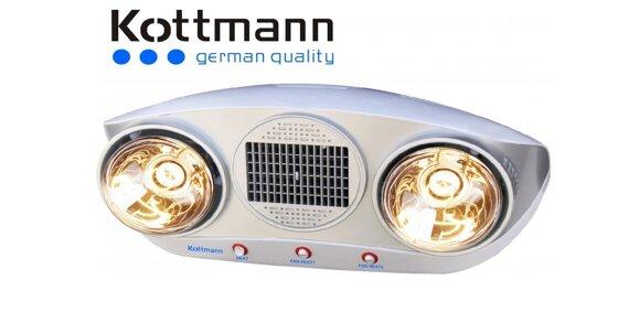 Đèn sưởi 2 bóng Kottmann có an toàn không?