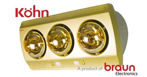 Đèn sưởi braun dùng có tốt không? Cần lưu ý điều gì?