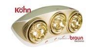 Đèn sưởi Kohn 3 bóng – 3 lưu ý nhất định phải biết khi sử dụng cho trẻ nhỏ