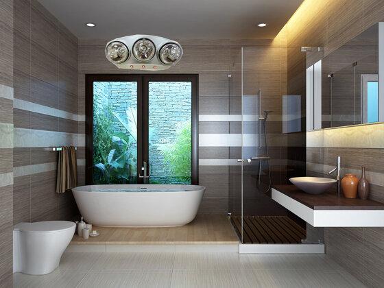 Đèn sưởi loại nào tốt cho nhà tắm? Chọn đèn Halogen Hans hay Braun?