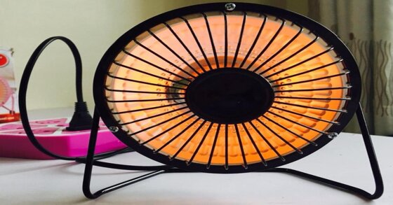 Đèn sưởi mini – lựa chọn tuyệt vời cho sinh viên vào mùa đông