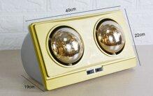 Đèn sưởi nhà tắm 2 bóng Kohn KN02G 550W có tốt không, giá bán, nơi mua