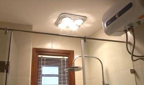 Đèn sưởi nhà tắm âm trần là loại đèn sưởi nhà tắm tốt nhất
