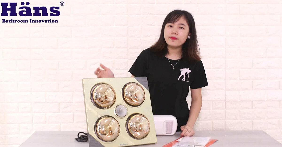 Đèn sưởi nhà tắm âm trần rẻ nhất là bao nhiêu ? mua ở đâu ?