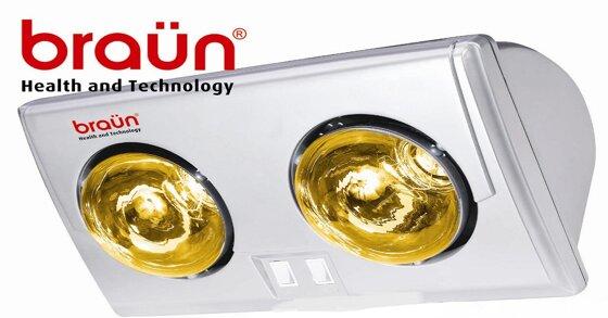 Đèn sưởi nhà tắm braun có những ưu nhược điểm gì?