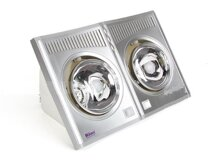 Đèn sưởi nhà tắm Hans 2 bóng H2B – Đẹp, an toàn, tiết kiệm