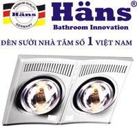 Đèn sưởi nhà tắm Hans loại nào tốt nhất?