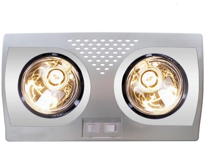 Đèn sưởi nhà tắm Heizen HE-2B176 – Sang trọng và bền bỉ
