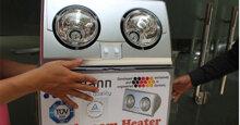 Đèn sưởi nhà tắm hỏng nên sửa hay thay mới ?