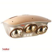 Đèn sưởi nhà tắm Saiko BH-825H - 3 bóng vàng giảm chói
