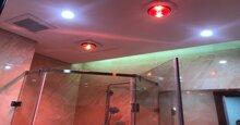 Đèn sưởi phòng tắm âm trần có điều khiển dùng tốt không?